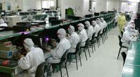 Foxconn Fabrik in Shenzhen