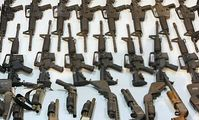 Waffenlager (Symbolbild)