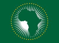 Flagge der Afrikanischen Union (AU)