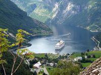 Die Costa Magica in Norwegen (Symbolbild)