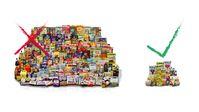 Die foodwatch-Studie zeigt: 242 von 283 untersuchten Kinderprodukten (85,5 Prozent) enthalten zu viel Zucker, Fett oder Salz. Bild: foodwatch e.V. Fotograf: foodwatch