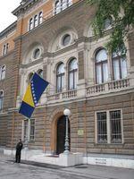 Sarajevo: Präsidentenpalast und Präsidentensitz von Bosnien und Herzegowina