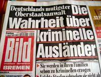 Eine ältere Bild-Zeitung