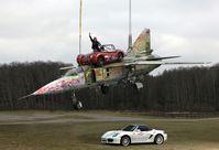 MiG23 Car Delivery Bild: Heiko Saxo Fotograf: Heiko Saxo