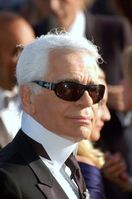 Karl Lagerfeld in Cannes, 2007