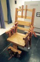 Elektrischer Stuhl im Florida State Prison