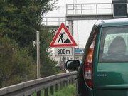 Autobahnbaustellen nehmen zügig ab