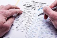 Stimmzettel: User bei Meinungen vorsichtig. Bild:Timo Klostermeier, pixelio.de