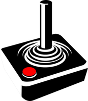 Atari-Joystick: KI meistert Games.