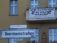 In der Beermannstraße müssen mehrere Wohnhäuser für den Ausbau abgerissen werden