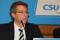 Markus Blume auf dem CSU-Parteitag im November 2015