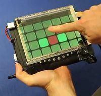 Shear Input: Druck- und Bewegungserkennung erlaubt neue Gesten. Bild: cmu.edu