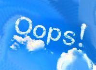 Fehler - Oops...