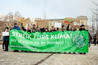"Demonstration ""Fridays for Future"" in Berlin im Januar 2019"
