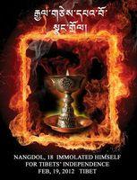 In Ermangelund eines Bildes von Nangdrol eine symbolische Lampe von Woeser Bild: igfm (openPR)