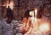 Arbeiter bei Abteufarbeiten auf der Schacht-Sohle im geplanten niedersaechsischen Endlager Gorleben
