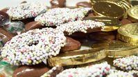 Diverse Süßwaren mit Schokolade