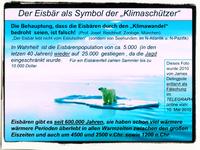 Klima: Zuviele verdienen enorme Summen Geld durch die Verbreitung von Lügen wie z.B. das ein Gas, daß schwerer als Luft ist, auf einmal die Schwerkraft ignorieren könnte (Symbolbild)