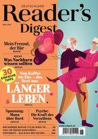 Cover der Juni-Ausgabe des Magazins Reader's Digest Bild: Reader's Digest Deutschland Fotograf: Reader's Digest Deutschland