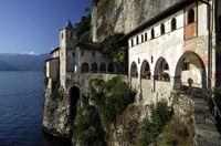 """Einsiedlerei Santa Caterina, Lago Maggiore, Italien. Bild: """"obs/Lago Maggiore"""""""