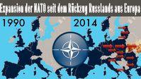 Seit dem Rückzug der Russen, ist die NATO unentwegt am vorwärts marschieren - entgegen aller Verträge und Abmachungen (Symbolbild)