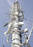 Funkmast: Eine mittelalterliche Technik krassiert: Antennenmasten für G1, 2, 3, 4 und 5 anstatt kostengünstiger und zuverläßiger Satelitenübertragung