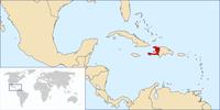 Haiti auf der Welt
