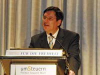 Paqué bei einer Veranstaltung der Friedrich-Naumann-Stiftung für die Freiheit im August 2009