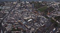 Bonn-Zentrum, Luftaufnahme (2014)
