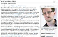 Edward Snowden: Dissident oder Verräter? Bild: wikipedia.org/Screenshot