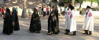 Damen und Ritter des Ritterorden vom Heiligen Grab zu Jerusalem (Symbolbild)