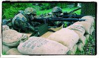 Bundeswehrsoldaten auf Wachposten (Symbolbild)