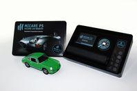 """Der MICARE PS RE-LOCATOR mit dem NFC-ID-SET zur Ortung und Identifizierung von Fahrzeugen /  Bild: """"obs/Missing Car Register GmbH"""""""