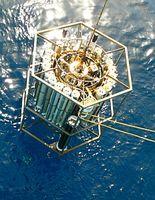 Das Sensorsystem misst Partikel in bis zu 7.000 Metern Tiefe. Bild: Universität Wien/Herndl