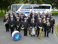 Gruppenbild Marinemusikkorps Nordsee