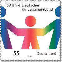 50 Jahre DKSB - Briefmarke von 2003