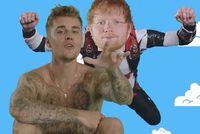 Justin Bieber und Ed Sheeran: ein Erfolgsrezept.