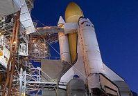 """Spaceshuttle """"Discovery"""" vor dem Start. Bild: Nasa, dts Nachrichtenagentur"""