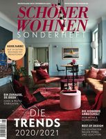 """Cover SCHÖNER WOHNEN Trends 2020/2021 /  Bild: """"obs/Gruner+Jahr, SCHÖNER WOHNEN/Annette Nordstrom/ LIVING4MEDIA"""""""