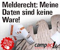 """Campact und FoeBuD starten Kampagne """"Meine Daten sind keine Ware"""""""