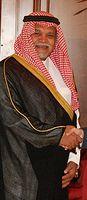 Bandar bin Sultan im Juli 2008