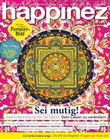 "Happinez Cover /Bild: ""obs/Bauer Media Group, happinez"""