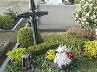 Entwendetes Grabkreuz Bild: Polizei