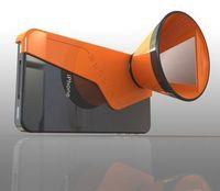 Konisch: Der 3D-Aufsatz fürs iPhone (Foto: Itamar Roth)