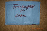Feriengeld für Leon Bild: Polizei