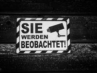Überwachung, Totalüberwachung, Kontrolle: Sicherheit ist das Gegenteil von Freiheit (Symbolbild)