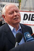 Oskar Lafontaine Bild:  Dirk Vorderstraße, on Flickr CC BY-SA 2.0