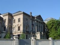 Das Berliner Reichstagspräsidentenpalais als Sitz der Deutschen Parlamentarischen Gesellschaft (DPG)