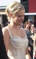 January Jones bei der Emmy-Verleihung 2008