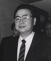 Li Peng, Ex-Premierminster des nationalsolalistischen Chinas.